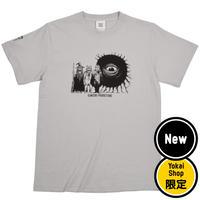 〔予約販売2021年5月下旬〜6月上旬発送予定〕[YokaiShop限定Ver]墓場の鬼太郎 妖怪大戦争 T-Shirts Color  ライトグレー