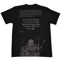 〔予約販売2021年10月下旬〜11月上旬発送予定〕悪魔くん(右袖ワッペン付き)T-Shirts Color  ブラック