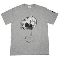 墓場の鬼太郎 しゃれこうべ T-Shirts Color  グレー