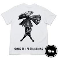 〔予約販売2021年10月下旬〜11月上旬発送予定〕河童の三平 三平傘 T-Shirts Color ホワイト