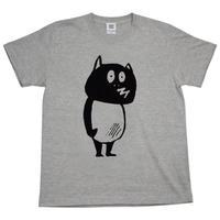 〔予約販売2020年9月中旬〜9月下旬発送予定〕河童の三平 たぬき T-Shirts Color  グレー
