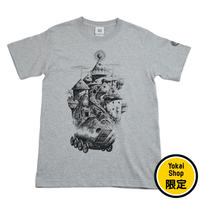 〔予約販売2020年9月中旬〜9月下旬発送予定〕[YokaiShop限定Ver]悪魔くん 見えない学校 T-Shirts Color  グレー