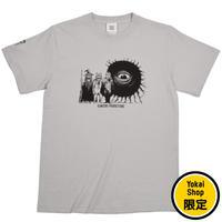 〔予約販売2021年10月下旬〜11月上旬発送予定〕[YokaiShop限定Ver]墓場の鬼太郎 妖怪大戦争 T-Shirts Color  ライトグレー