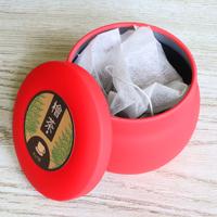 【東濃檜茶】1杯用ティーバッグ・5包入(5杯分)|ギフトにも最適な缶入り