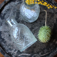 ≪ibl-gl-mnb≫ Ib Laursen nostalgic bottle glass H10.5cm