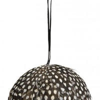 ≪nd-fthr-hngbl-dot≫ Nordal Feather hanging ball 9㎝ / dots