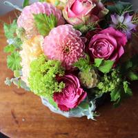 ≪md-a-5-pk≫Happy Mother's Day !フラワーアレンジメント/ピンク系
