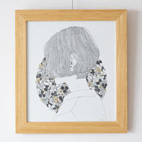 Satomi 原画「四つ葉のピアス」