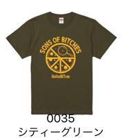 """※熱海災害支援※ """"PIZZA CIRCLE"""" Tシャツ CITY GREEN"""