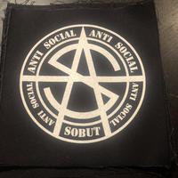 """""""オリジナル"""" ANTI SOCIAL 布パッチ"""
