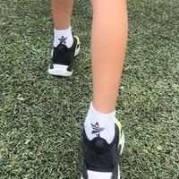 SOCKSTAR white&black 19-21cm