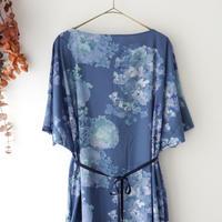 the last flower of the afternoon ザ ラスト フラワー オブ ジ アフタヌーン | 四葩のpullover dress | アジサイブルー