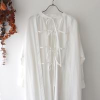 the last flower of the afternoon ザ ラスト フラワー オブ ジ アフタヌーン | 更待のsmock dress | ホワイト