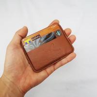 コンパクトカードケース/牛革レザー