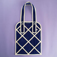 WINDOW TOTE BAG -Navy