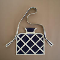 WINDOW CROSSBODY BAG -Navy