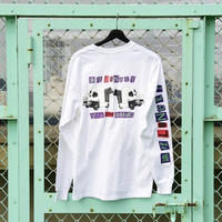 LONELY/論理 PRETTY MIRROR GOGO Long Sleeve T-shirt  -white-