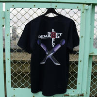 LONELY/論理OTONA NO WEAPON T-Shirt -black-