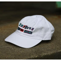 LONELY/論理 ANARCHY S.O.D LOGO CAP -white-