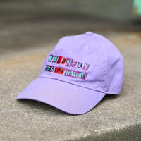 LONELY/論理 ANARCHY S.O.D LOGO CAP -purple-