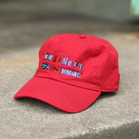 LONELY/論理 ANARCHY S.O.D LOGO CAP -red-