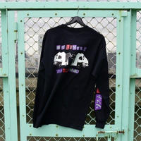 LONELY/論理 PRETTY MIRROR GOGO Long Sleeve T-shirt  -black-