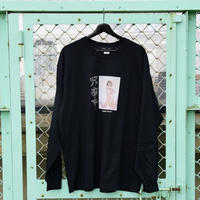 LONELY/論理 ICHIKAWAMASAMI S.O.D. Long Sleeve T-shirt  -black-