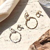 Flap hoop pierce (2P)