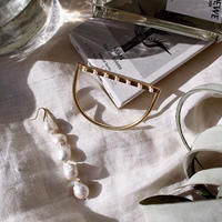 Pearl element bangle