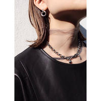 Collar necklace / Silver [Limited color]