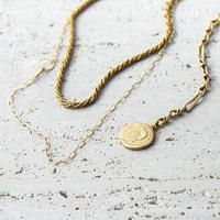 Aging coin necklace (3P Set)