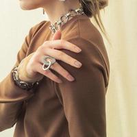 Keyring bijou ring