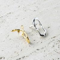 Asymmetry metal pierce (1P) (one color)