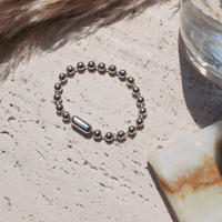 Ball chain bracelet / 6.5mm  / Gross silver[Unisex line]