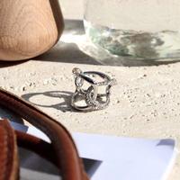 Petal bijou ring