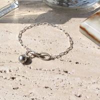 Simple silver bracelet[Limited]