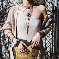 Natural metal necklace (2Set)