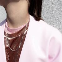 Norme long frame necklace / Men's