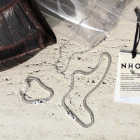 Norme long frame necklace / Women's