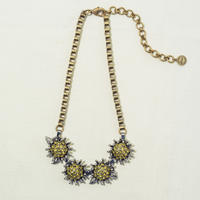 Sun flower necklace (Yellow)
