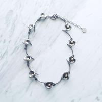 Calla lily necklace (Pearl)