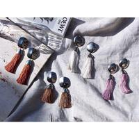 Tassel earing (Terracotta)