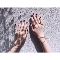 Chain lead bangle