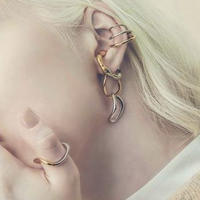 Literal earcuff ring (mix color)