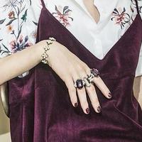 Victorian pearl motif bracelet