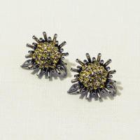 Sun flower earing (Yellow)
