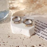 Socket ring / Silver×Gold / (Women's size)