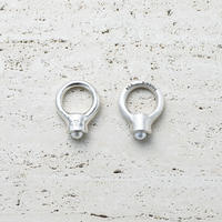 Tap pearl ring (Mens size only)  [Unisex line]