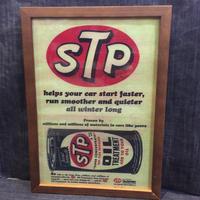 木製フレームポスターⅬ STPオイル 缶