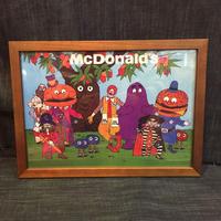 木製フレームポスターⅬ McDonald's